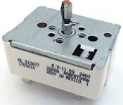 Wb24t10025 Surface Burner Infinite Switch For General Electric Range