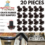 Rubber Feet Bumpers For Viking Range Gas Stove Burner Grates Frigidaire Gallery