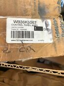 Brand New Ge Wb36k5067 Control Panel Assembly White