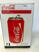 Coca Cola 11 In 12 Volt Dc 110 Ac 24 12 Oz Thermoelectric Can Cooler
