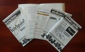 Whirlpool Washer La5700xm Laundry Information Center Bac Pak Of Document Guides