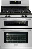 Frigidaire Fggf301dnf Gallery Series 30 Gas Convection Range Stainless Steel