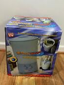 Wonder Washer Personal Washing Machine Rv Campers Apartments As Seen On Tv