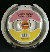 8 Electric Range Stove Reflector Drip Pan New Nos Bt95