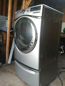 Whirlpool Wgd94hexl1 Duet Steam Gas Dryer Silver