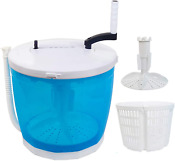 Portable Stacked Washer And Dryer Combo Mini Manual Washing Machine All In One