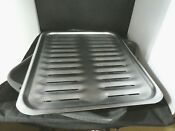 General Electric Large Broiler Pan And Rack 12 3 4 X 16 1 2 Inch