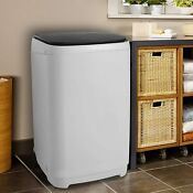 Full Automatic Washing Machine Portable 2 In 1washer Spin Dryer Compact Laundry