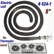 Vintage Thermador Su4 B Cook Top Range 8 Coil Surface Element Replacement Works