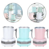 Portable Quick Electric Ice Maker Machine Kettle Drink Chiller For Home Car