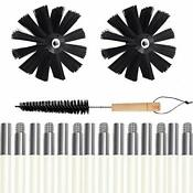 Dryer Vent Cleaner Kit 24 Feet Dryer Vent Cleaner Brush Two Synthetic Clean