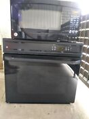 Microwave 1 6 Cubic Ft Wall Oven Combination Ge In Excellent Condition