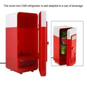 Mini Fridge Portable Refrigerator Can Cooler Warmer Cola Drink For Home Office