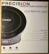 Hearthware Precision Induction Cooktop 30121 W Manual Cookbook