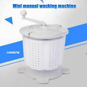 2 In1 Manual Washing Machine Washer And Dryer With Spin Dry For Camping Caravans