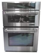 Jenn Air Jmw3430wp 30 Stainless Combination Microwave Wall Oven