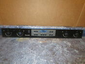 Thermador Range Glass Control Panel Part 00484751