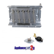 279838 197 Replacement For Whirlpool Dryer Heating Element T Stat Kit