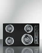 Summit Appliance Summit 30 Electric Cooktop With 4 Burners Sui1636