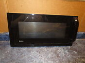 Kenmore Microwave Door Black Part 3720w0d087b