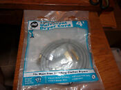 Jmf Dryer Cord 3 Prong 3 Wire Universal Fits All Brands 4 Length New In Package