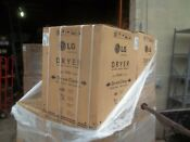 New Lg Ventless Clothes Dryer Dlec855w In The Factory Box