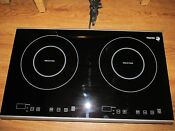 Dagor Induction Cooktop Double Burner Cook Top Counter Inset 1800w