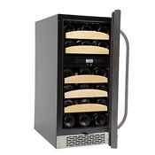 Whynter 28 Bottle Dual Zone Built In Wine Cooler