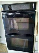 Kenmore Elite 48459 30 Electric Double Wall Oven Black New 262