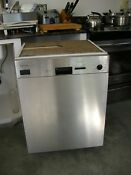 Miele Dishwasher In Great Working Condition Stainless Steel Face