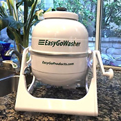 New Easygo Washer Manual Clothes Mobile Hand Powered Washing Outdoor Rv Camper