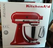 Kitchenaid Artisan 5ksm150blt Cafe Latte Stand Mixer Cream Colour