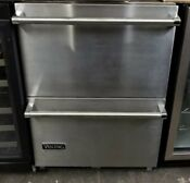 Viking 24 Undercounter Refrigerator Drawers Built In Stainless Steel