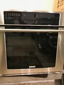 Electrolux Ei30ew35ps 4 8 Cu Ft Single Wall Oven With Iq Touch Controls 30 In