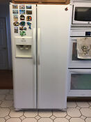 25 Cubic Feet Side By Side Refrigerator Made By Kenmore