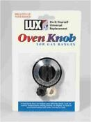 Lux Cpr407 Gas Oven Knob Black
