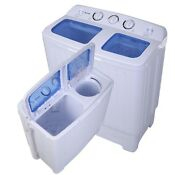 Portable Washing Machine Apartment Washer Spin Dryer Compact Combo Cleaner Rv