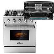 Top 30 4 Burner Gas Range Electric Oven Dual Fuel Stainless Steel 4 2cu Ft R4m9