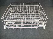 Wd28x10405 Ge Dishwasher Lower Rack Assembly With Wheels Wd28x10333