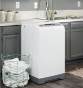 White Portable Washer Magic Chef Mcstcw16w3 1 6 Cubic Ft Topload Compact Washer