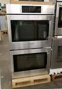 New Out Of Box Bosch 30 Double Wall Convection Oven Benchmark Series Stainless
