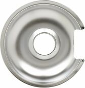 Range Chrome 8 Drip Pan For General Electric 8ge Wb32x10013