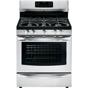 Kenmore Free Standing Gas Range 30inches Stainless Steel Used Excellent Cond