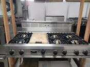 Viking Professional 48 Inch Rangetop And Down Draft Vgrt48