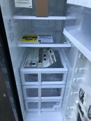 New Samsung Rs25h5111sg 24 5 Cu Ft Side By Side Refrigerator Black Ss