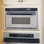 Ge Jeb1095sb 1 0 Cu Ft 800 W Ss Profile Built In Microwave Convection Oven