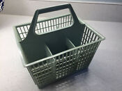 Dishwasher Green Silverware Basket Replacement Square W 6 Compartments