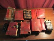 11pcs Vintage Lot Of Refrigerator Fridge Parts Ranco Type Rj And Other Parts