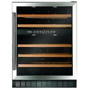 Cda Fwc604ss 60cm Freestanding Under Counter Wine Cooler Stainless Steel