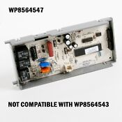 New Genuine Oem Wp8564547 Whirlpool Kitchenaid Dishwasher Control Board 8564547